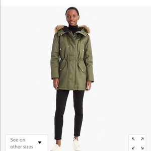 Perfect winter parka with eco-friendly Primaloft®